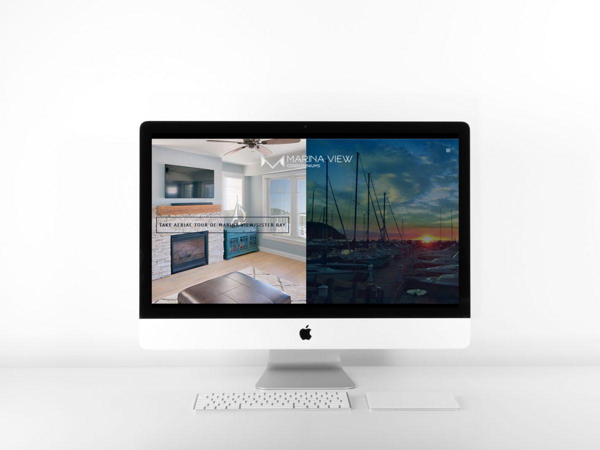Marina View Condos Website - Sister Bay