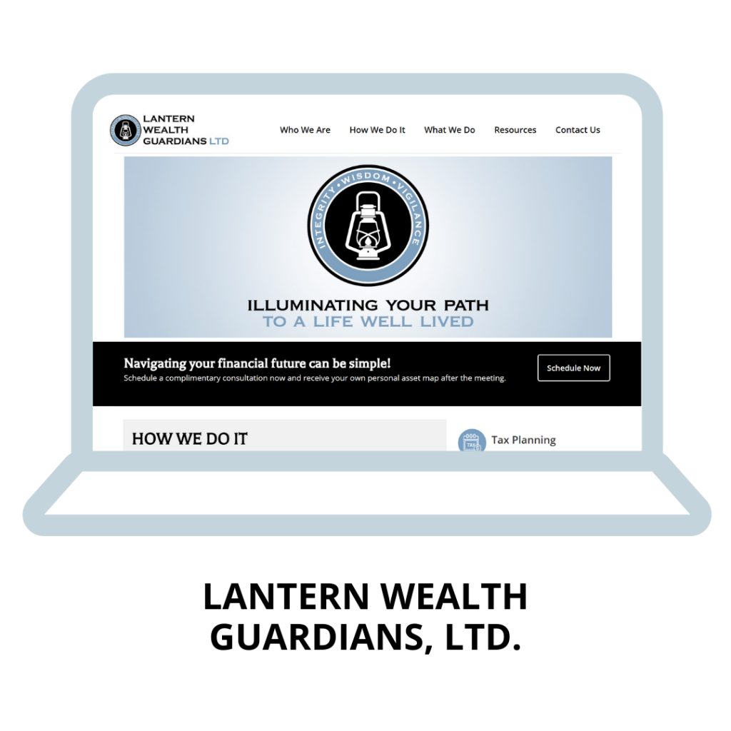 Lantern Wealth Guardians Website